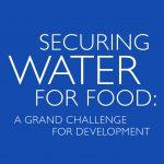 Securingwaterforfood